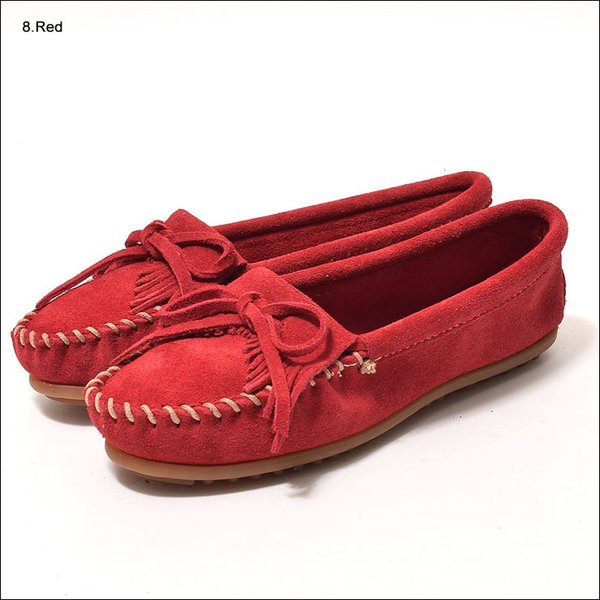 MINNETONKAミネトンカ キルティ スエード モック モカシンKILTY SUEDE MOC MOCCASIN 401 400 402 403 409 401T 407T 409T 406 408T|delicious-y|07