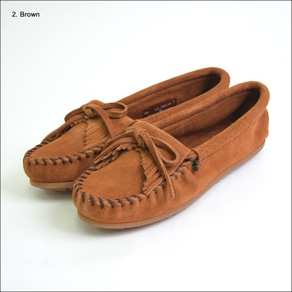 MINNETONKAミネトンカ キルティ スエード モック モカシンKILTY SUEDE MOC MOCCASIN 401 400 402 403 409 401T 407T 409T 406 408T|delicious-y|08