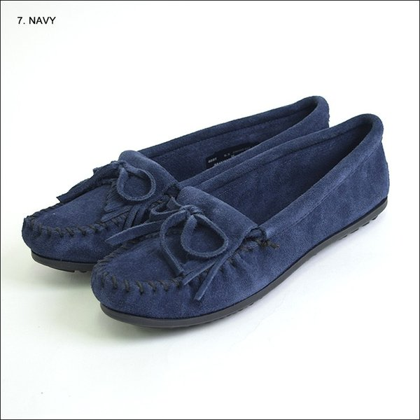 MINNETONKAミネトンカ キルティ スエード モック モカシンKILTY SUEDE MOC MOCCASIN 401 400 402 403 409 401T 407T 409T 406 408T|delicious-y|09