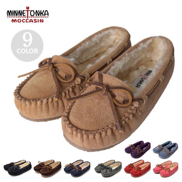 MINNETONKA ミネトンカ キャリースリッパ CALLY SLIPPER 4010/4011/4012/4014/4015/4016/4017 レディース 靴 モカシン|delicious-y