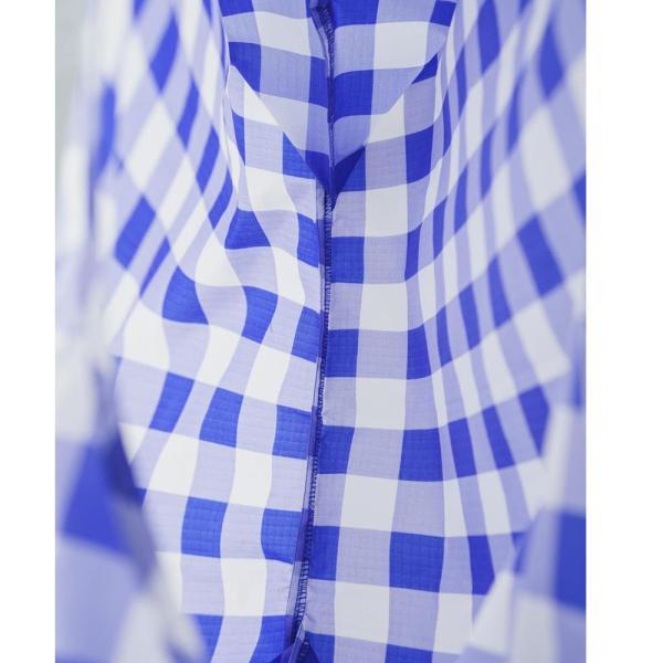メール便 BAGGU バッグ STANDARD スタンダード【BIG CHECK BLUE】チェック ブルー 青 エコバッグ ナイロンバッグ ショッピングバッグ トートバッグ|delicious-y|04