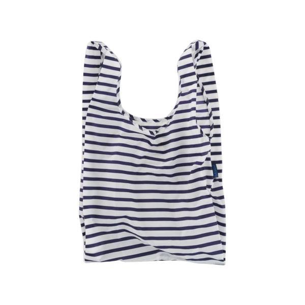 メール便 BAGGU バッグ STANDARD スタンダード【Sailor Stripe】ストライプ ネイビー ホワイト エコバッグ ナイロンバッグ ショッピングバッグ トートバッグ|delicious-y|04