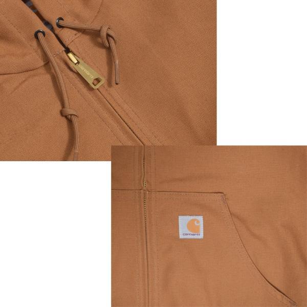 CARHARTT カーハート J131 Thermal Lined Duck Active Jacket ダックアクティブジャケット メンズ コート ジャケット アウター|delicious-y|08