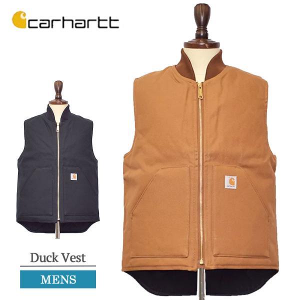 CARHARTT カーハート V01 Men's Duck Vest メンズ ダック ベスト アウター ベスト|delicious-y
