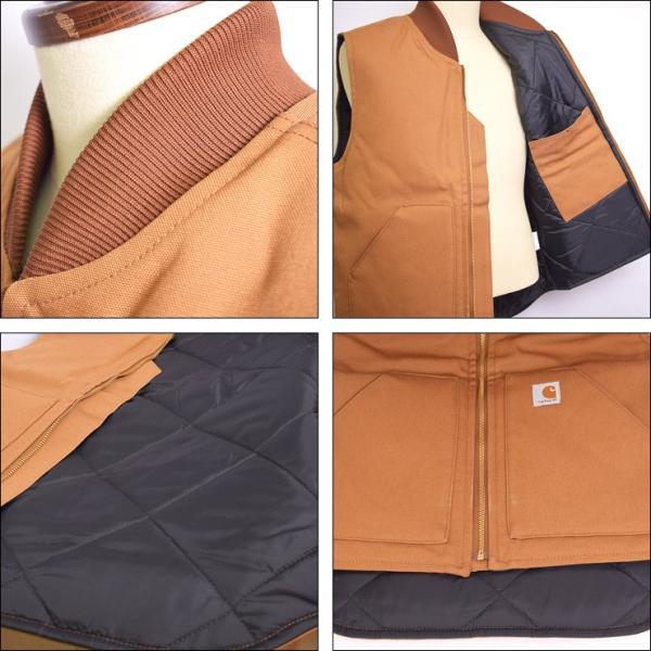 CARHARTT カーハート V01 Men's Duck Vest メンズ ダック ベスト アウター ベスト|delicious-y|04
