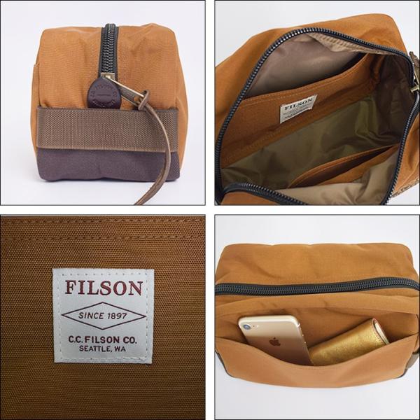 FILSON フィルソン 20019936 BALLISTIC NYLON TRAVEL PACK バリスティック ナイロン トラベルパック メンズ 鞄 ポーチ|delicious-y|03