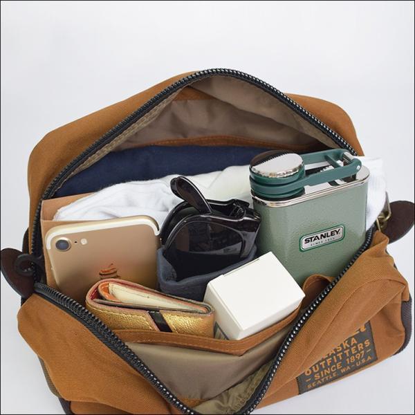 FILSON フィルソン 20019936 BALLISTIC NYLON TRAVEL PACK バリスティック ナイロン トラベルパック メンズ 鞄 ポーチ|delicious-y|04