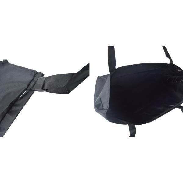 IGNOBLE イグノーブル 11028 BLANK TOTE Black メンズ 鞄 トートバック ショルダーバッグ delicious-y 03