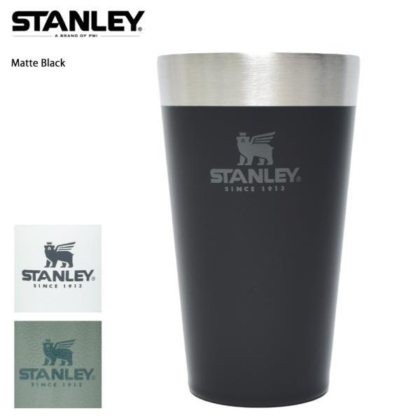 STANLEY スタンレー STACKING BEER PINT 16oz 0.47L ステンレス マグカップ スタッキング真空パイント タンブラー カップ アウトドア キャンプ delicious-y