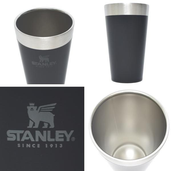 STANLEY スタンレー STACKING BEER PINT 16oz 0.47L ステンレス マグカップ スタッキング真空パイント タンブラー カップ アウトドア キャンプ delicious-y 03