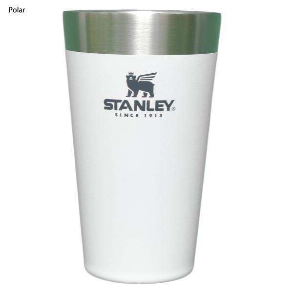STANLEY スタンレー STACKING BEER PINT 16oz 0.47L ステンレス マグカップ スタッキング真空パイント タンブラー カップ アウトドア キャンプ delicious-y 04