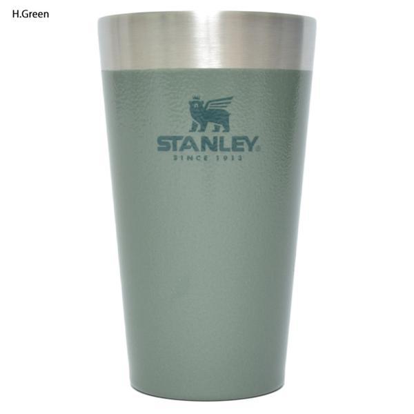 STANLEY スタンレー STACKING BEER PINT 16oz 0.47L ステンレス マグカップ スタッキング真空パイント タンブラー カップ アウトドア キャンプ delicious-y 05