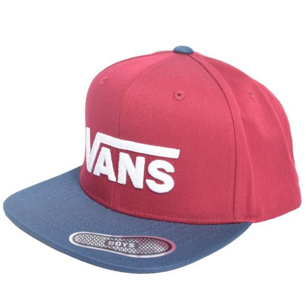 VANS APPAREL  VN0A36OUTN3 DROP V II SNAPBACK BOYS BIKING  ボーイズ キッズ キャップ 帽子|delicious-y|02
