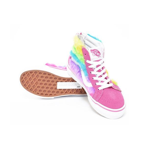 VANS KIDS バンズ キッズ VN0A3276VJ4 スケートハイジップ レインボー 虹 子供 靴 delicious-y 03