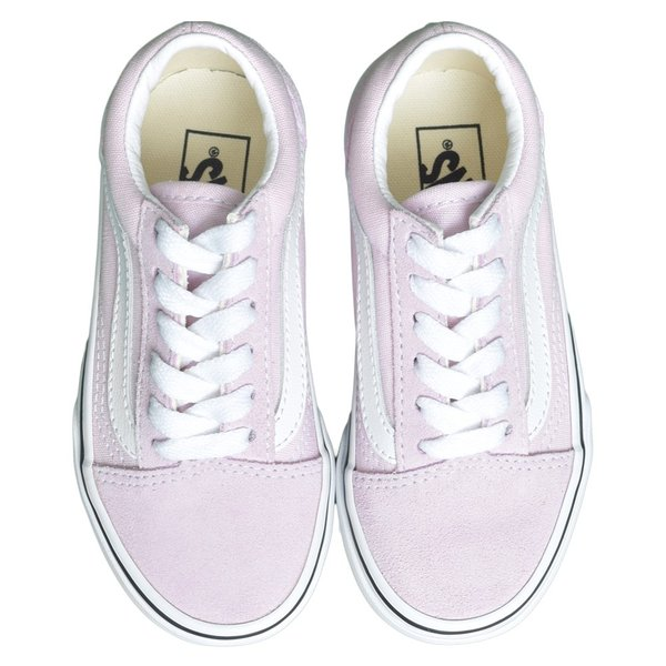 VANS KIDS バンズ キッズ VN0A4BUUV3M OLD SKOOL Lilac Snow/True White オールドスクール ピンク ホワイト 子供 靴|delicious-y|02