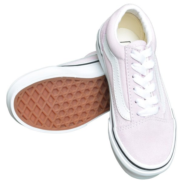 VANS KIDS バンズ キッズ VN0A4BUUV3M OLD SKOOL Lilac Snow/True White オールドスクール ピンク ホワイト 子供 靴|delicious-y|03