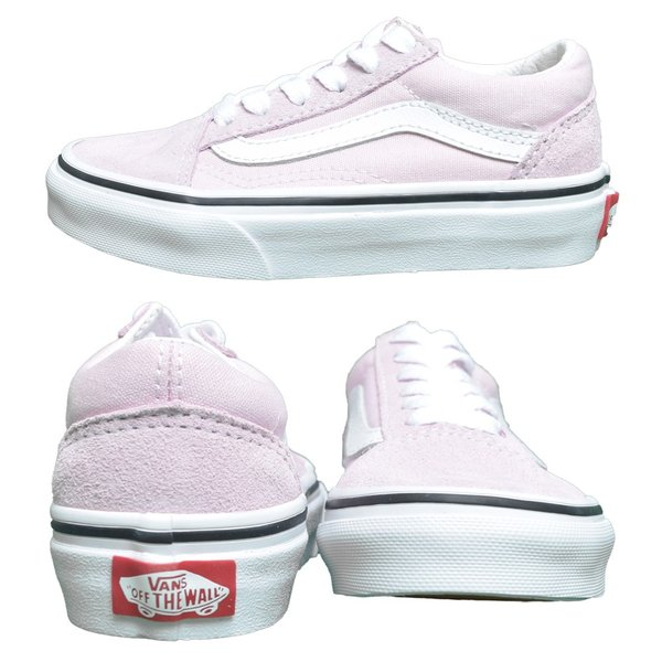 VANS KIDS バンズ キッズ VN0A4BUUV3M OLD SKOOL Lilac Snow/True White オールドスクール ピンク ホワイト 子供 靴|delicious-y|04