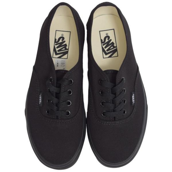 VANS LADIES バンズ ヴァンズ レディース VN000EE3BKA AUTHENTIC オーセンティック Black Black ブラック レディース スニーカー 靴 delicious-y 02