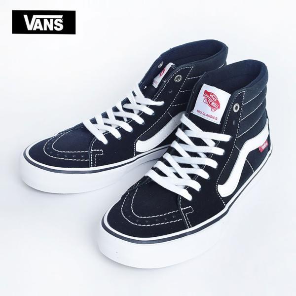 VANS MENS バンズ メンズ SK8-HI PRO スケートハイ プロ VN000VHGY28 BLACK/WHITE スニーカー 靴|delicious-y