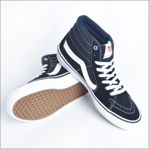 VANS MENS バンズ メンズ SK8-HI PRO スケートハイ プロ VN000VHGY28 BLACK/WHITE スニーカー 靴|delicious-y|02