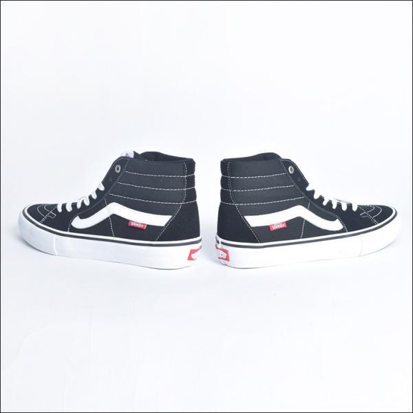 VANS MENS バンズ メンズ SK8-HI PRO スケートハイ プロ VN000VHGY28 BLACK/WHITE スニーカー 靴|delicious-y|03