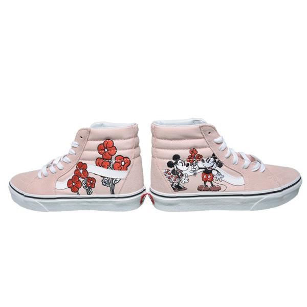 VANS LADIES バンズ VN0A38GEUPN SK8HI Disney スケートハイジップ ディズニー ミニー スニーカー 靴 delicious-y 02