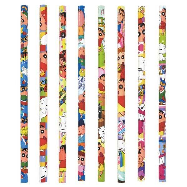 ネコポス発送対応可(1セットまで) クレヨンしんちゃん キュート鉛筆 24本1セット