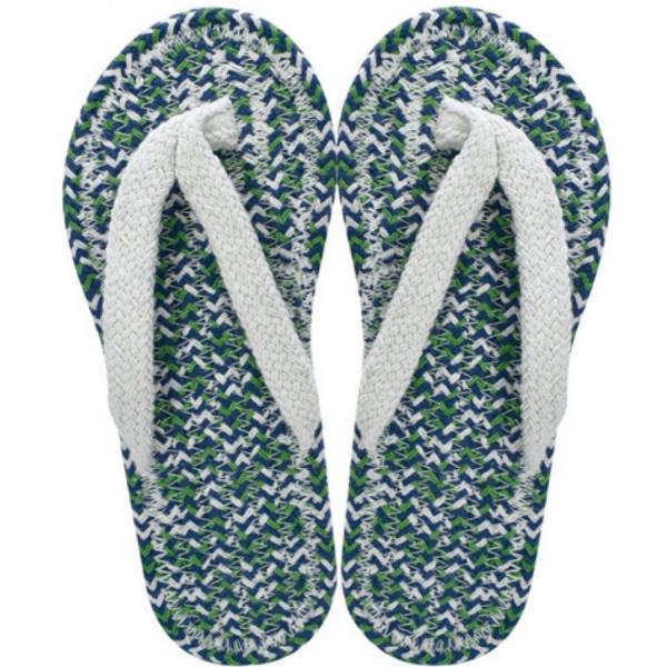 コットンサンダルメンズIVORYスリッパ布草履ぞうり室内履き綿クリックポスト対応