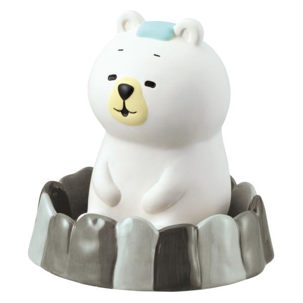 デコレ 潤いマスコット 露天風呂 くま 電源のいらない エコ 加湿器 AG-74912【クリックポスト不可】|delight-shop|04