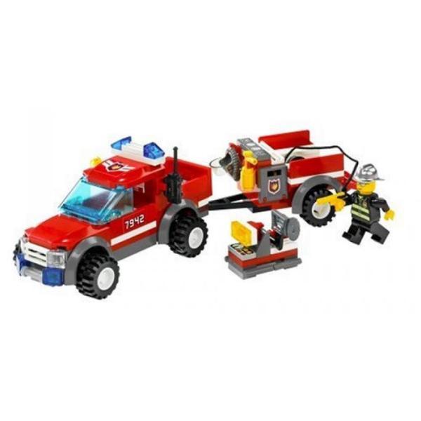 おもちゃ ゲーム 積み木 レゴ ブロック LEGO City Off Road Fire Rescue (7942)ミニフィギュア|deligo-store