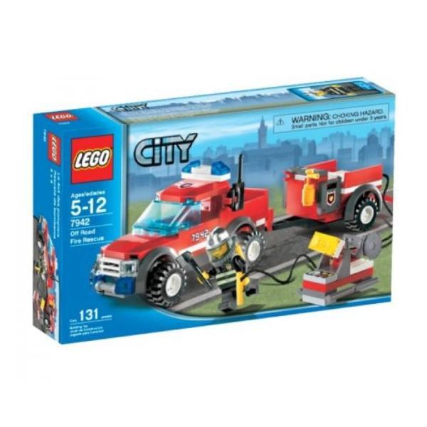 おもちゃ ゲーム 積み木 レゴ ブロック LEGO City Off Road Fire Rescue (7942)ミニフィギュア|deligo-store|02