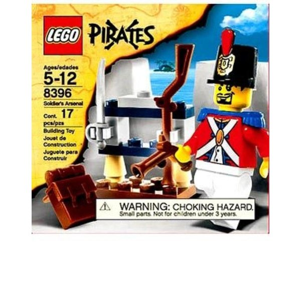 LEGO Pirates Soldier/'s Arsenal Set #8396