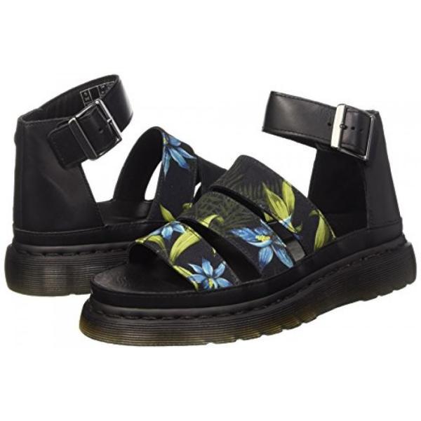 ドクターマーチン ブーツ レディース Dr. Martens Women's Clarissa Chunky Strap Sandal Black Hawaiian Floral/Brando 4 UK レースアップ