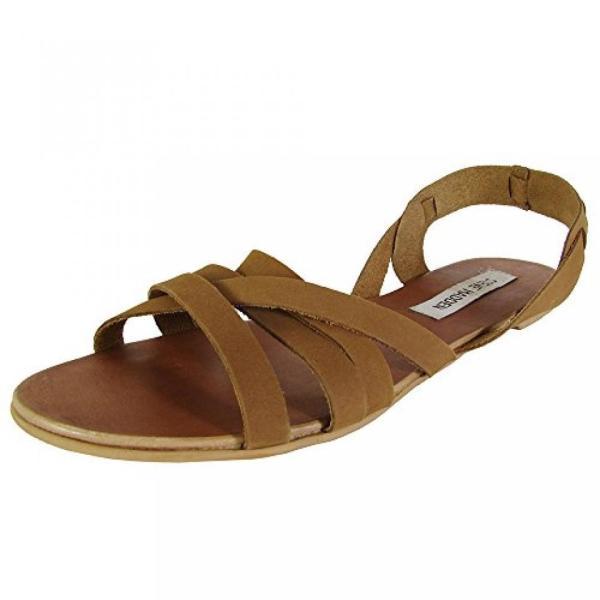 スティーブマデン ブーツ レディース Steve Madden Womens Flavah Slingback Flat Sandal Shoes 日本未入荷