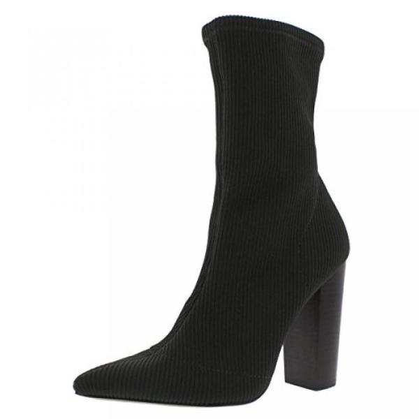 スティーブマデン ブーツ レディース Steve Madden Womens Siena Ribbed Knit Pointed Toe Sock Boot 日本未入荷