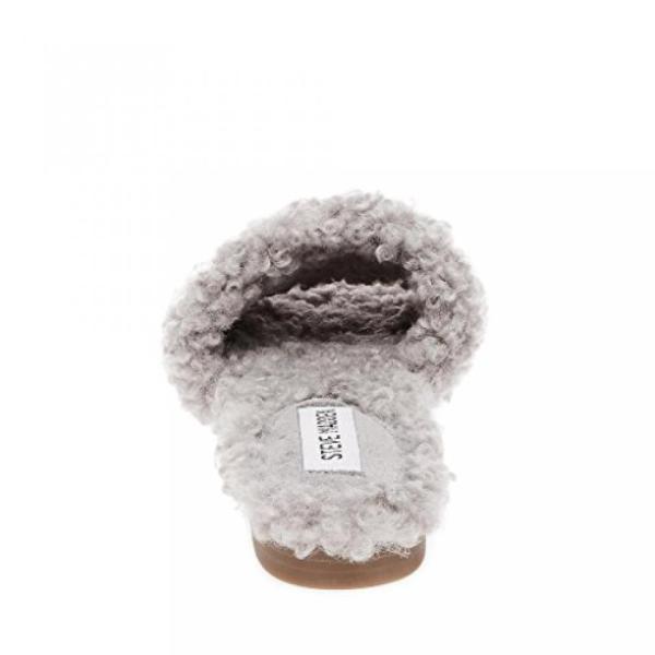 スティーブマデン ブーツ レディース Steve Madden Women's Tess Grey Slip-On Sandal 日本未入荷
