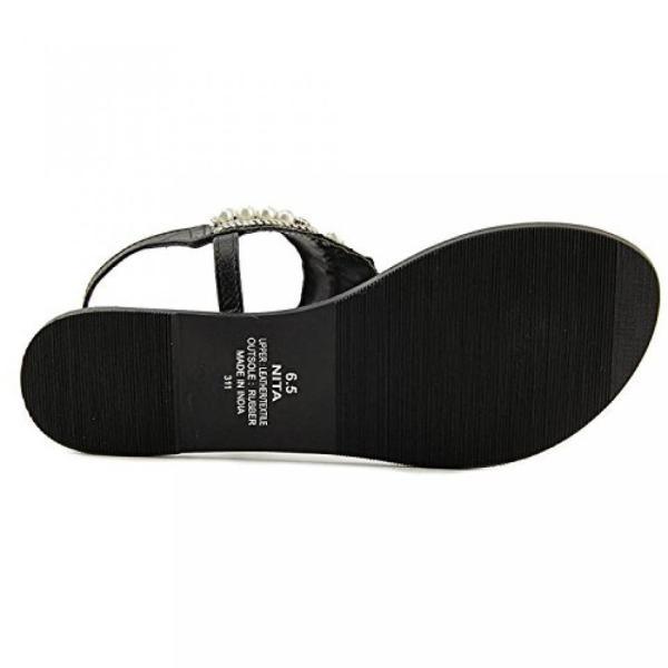 スティーブマデン ブーツ レディース Steve Madden Womens Nita Leather Open Toe Casual Slingback Sandals 日本未入荷