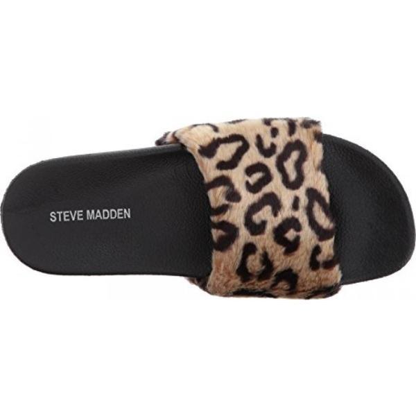 スティーブマデン ブーツ レディース Steve Madden Women's Softey-P Slide Sandal 日本未入荷