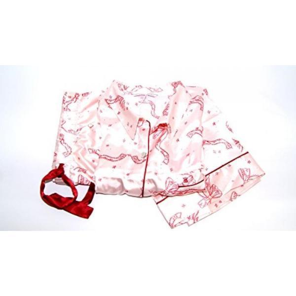 ヴィクトリアズシークレット パジャマ 部屋着 ワンピース ルームウェア Victoria's Secret The Afterhours Satin Pajama 2 Piece Set Red Bows Extra Large