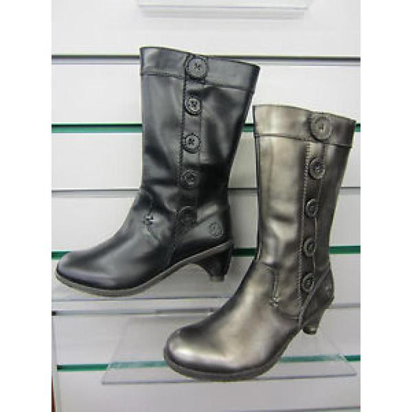 ドクターマーチン ブーツ レディース Ladies Dr. Martens Black Zip Up Mid Calf Boots Toki レースアップ