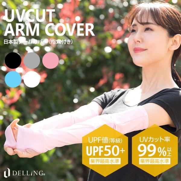 日本製アームカバーレディースUPF50+UV99%以上カットスポーツ日焼け対策紫外線対策UVカット日焼け防止涼しいゴルフテニスシ
