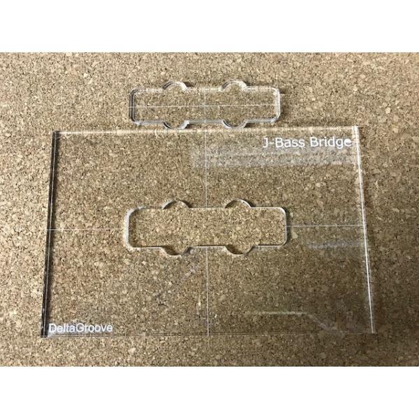 ベース用ピックアップ テンプレートガイド ジャズベース ブリッジ用(リア) delta-groove 02