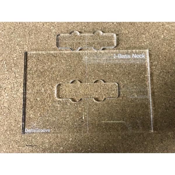 ベース用ピックアップ テンプレートガイド ジャズベース ネック用(フロント)|delta-groove|02