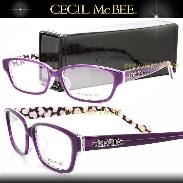CECIL McBEE セシルマクビー メガネ フレーム 渋谷 109 ブランド CMF-7002-4