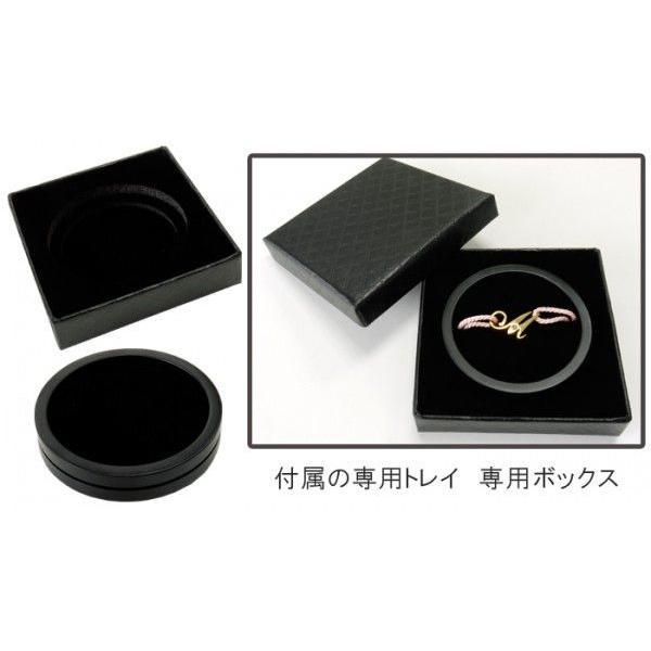 イニシャル コード ブレスレット ゴールド / アルファベット / 誕生石 / カップルペアやプレゼントに最適 /  ゴールド / APZ9001-GD deluxe 06