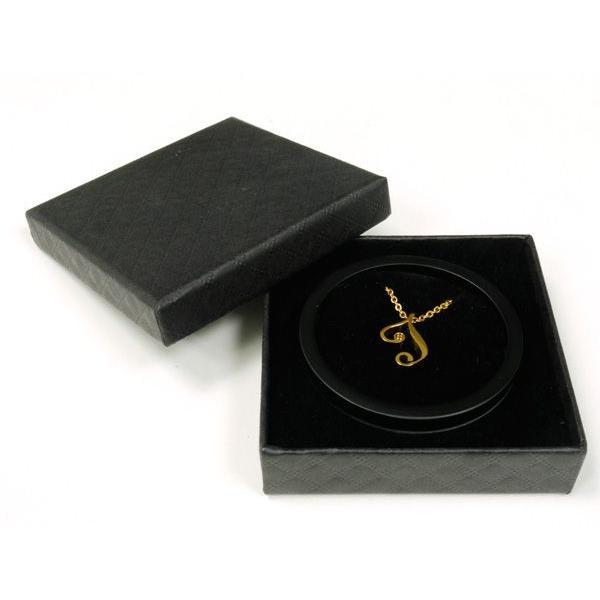 イニシャル チェーン ネックレス ゴールドカラー / カップルでペアやプレゼントに最適 / 誕生石 / APZ9003-GD|deluxe|05