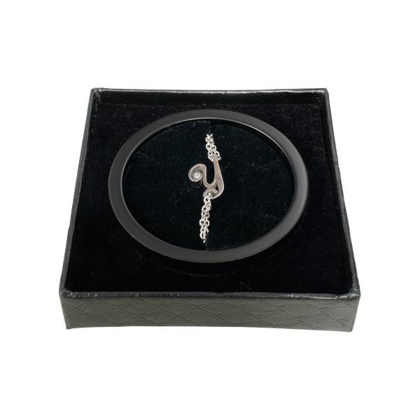 イニシャル チェーン ブレスレット シルバーカラー / 誕生石 / カップルでペアやプレゼントに最適 / APZ8005|deluxe|05