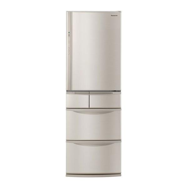 冷蔵庫NR-E414V-Nパナソニック5ドア400Lクラス微凍結パーシャルスリム右開きシャンパン
