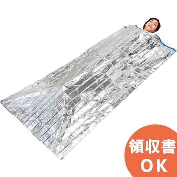 レスキュー簡易寝袋 23000 シルバー 60枚(60x1箱)