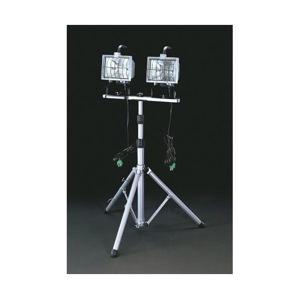 EA814EH-1 エスコ AC100V/500Wx2 作業灯(ハロゲン球)
